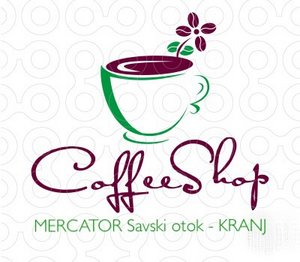 Coffee shop logo   Savski otok   Supernova